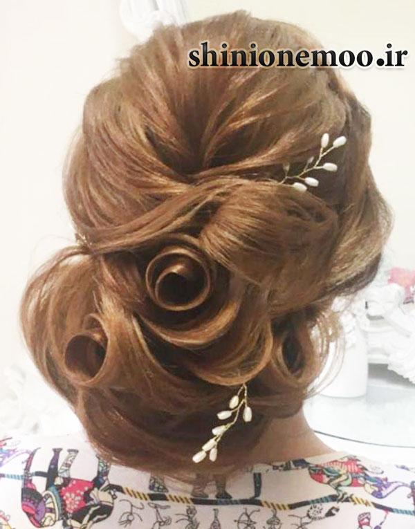 آموزش شینیون حرفه ای مو - آموزش شینیون حرفه ای عروس - آموزش شینیون حرفه ایی